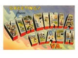 Greetings from Virginia Beach, Virginia Art
