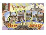 Greetings from Camden, New Jersey Print