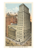 New York Stock Exchange, New York City Print
