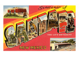 Souvenir of Santa Fe, New Mexico Art