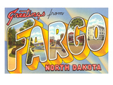 Greetings from Fargo, North Dakota Art