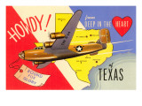 Howdy from Deep in the Heart of Texas Poster