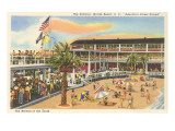 Pavilion, Myrtle Beach, South Carolina Poster