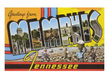 Greetings from Memphis, Tennessee Poster