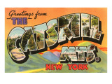 Greetings from Catskill, New York Prints