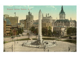 Niagara Square, Buffalo, New York Giclee Print