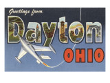 Greetings from Dayton, Ohio Posters