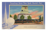 Greetings from New York World's Fair, National Cash Register Building Prints