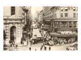 Powell Street, Drahtseil-Straßenbahn, San Francisco (Foto) Kunstdrucke