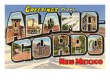 Greetings from Alamogordo, New Mexico Prints