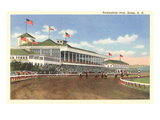 Rockingham Race Track, Salem, New Hampshire Giclee Print
