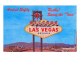 Welcome Sign, Las Vegas, Nevada Posters