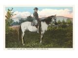 Robert E.Lee à cheval, Gettysburg, Pennsylvanie Posters