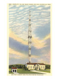 Tallest Radio Tower, Nashville, Tennessee Print