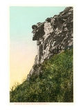 Old Man of the Mountains, White Mountain, New Hampshire Print