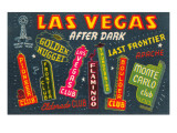 Greetings from Las Vegas, Nevada Print