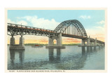 Talcony-Palmyra Bridge, Philadelphia, Pennsylvania Print
