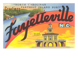 Greetings from Fayetteville, North Carolina Art