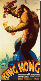 King Kong Stretched Canvas Print