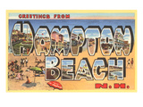 Greetings from Hampton Beach, New Hampshire Poster