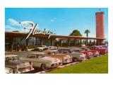 Hotel Flamingo, Las Vegas, Nevada Giclée-Premiumdruck