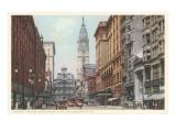 Market Street, Philadelphia, Pennsylvania Poster