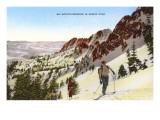 Skiing in Utah Prints