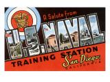 Greetings from San Diego, California Prints