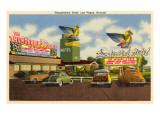 Thunderbird Hotel, Las Vegas, Nevada Giclée-Premiumdruck