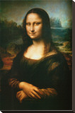 Mona Lisa, c.1507 Stretched Canvas Print by Leonardo da Vinci 