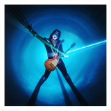 KISS: Ace Frehley Prints