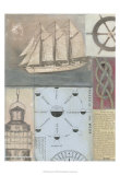 Sailor's Journal I Prints by Norman Wyatt Jr.