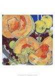 Cantaloupe Sisters I Prints by Silvia Rutledge