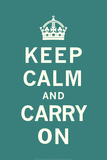 Keep Calm and Carry On Lminas