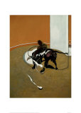 Study for Bullfight no. 1, c.1969 Poster by Francis Bacon
