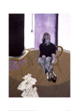 Self Portrait Seated, c.1973 Print by Francis Bacon