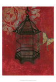 Asian Bird Cage II Posters by Norman Wyatt Jr.