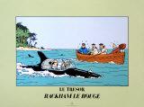 Le Tresor, Rackham Le Rouge Prints by  Hergé (Georges Rémi)