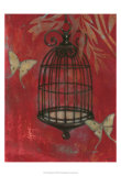 Asian Bird Cage I Prints by Norman Wyatt Jr.