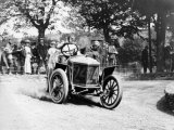 Algernon Guinness Driving a Minerva in the 1907 Circuit des Ardennes Photographie