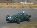 Roy Salvadori Driving Aston Martin in Dutch Grand Prix at Zandvoort Photographie