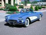 1959 Chevrolet Corvette Fotografická reprodukce