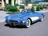 1959 Chevrolet Corvette Fotografie-Druck