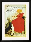 Lait Pur De La Vingeanne Sterilise Posters by Théophile Alexandre Steinlen
