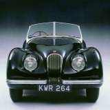 1950 Jaguar XK120 Photographic Print