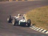 Lotus 18, Stirling Moss in 1960 Dutch Grand Prix Photographic Print
