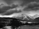 Fillan Valley with the Mountain Ben More in the Background Photographic Print