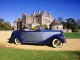 1948 Rolls Royce Silver Wraith with Hooper Coachwork at Beaulieu Photographic Print