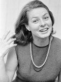 Ingrid Bergman, September 1965 Photographic Print