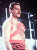 Freddie Mercury and Queen Photographic Print